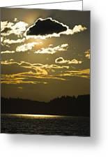 Cloud Shadows Greeting Card