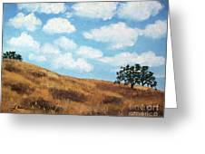 Cloud Shadows Greeting Card