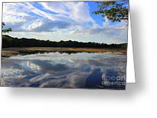 Cloud Show, Reflected Greeting Card