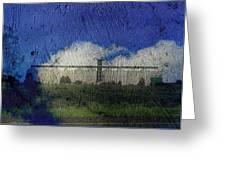 Cloud Silo Greeting Card