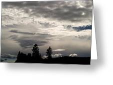 Cloud Study 1 Greeting Card