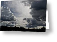 Cloud Study 2 Greeting Card