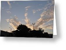Cloud Symphony Greeting Card