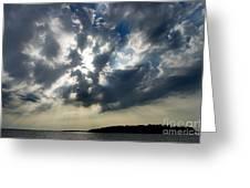 Cloudburst Greeting Card