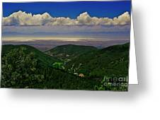 Cloudcroft Canyon View Greeting Card