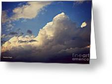 Clouds-3 Greeting Card