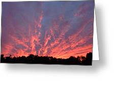 Clouds 55 Greeting Card