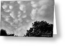 Clouds Before The Storm Greeting Card