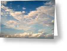 Clouds Clouds Clouds Greeting Card