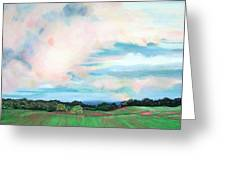 Clouds I Greeting Card by Lucinda  Hansen