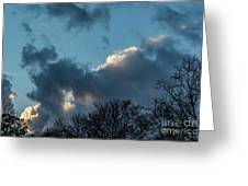 Clouds In Afternoon 20170326 7199 Greeting Card