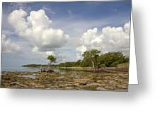 Clouds In The Keys 2 Greeting Card
