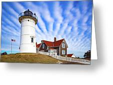 Clouds Leading The Way Greeting Card by Brian Hale