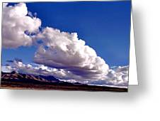Clouds Marching Greeting Card