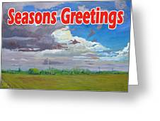 Clouds Number Two Greeting Card