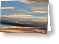 Clouds Of Natural Art Greeting Card