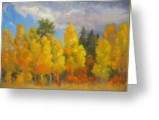Clouds Of October Greeting Card