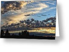 Clouds Of Oregon Greeting Card