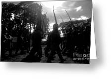 Clouds Of War Greeting Card