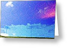 Clouds On The Ceiling Greeting Card