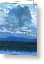 Clouds On The Kootenai Greeting Card
