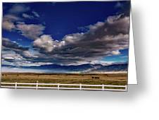 Clouds Over California Greeting Card