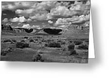 Clouds Over Cedar Mesa Greeting Card