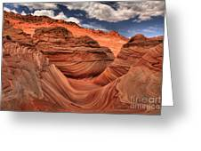Clouds Over Coyote Buttes North Greeting Card