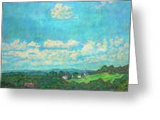Clouds Over Fairlawn Greeting Card