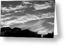 Clouds Over Florida Greeting Card