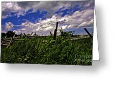 Clouds Over Gettysburg Greeting Card
