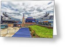 Clouds Over Gillette Stadium Greeting Card