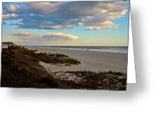 Clouds Over Holden Beach Greeting Card