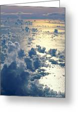 Clouds Over Ocean Greeting Card