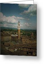 Clouds Over Siena Greeting Card