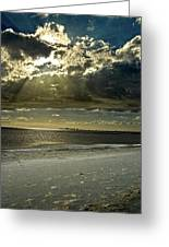 Clouds Over The Bay Greeting Card