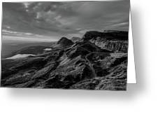 Clouds Over The Isle Of Skye Greeting Card