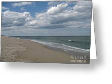 Clouds Over The Sea Greeting Card