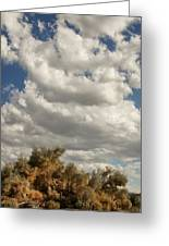 Clouds Rising Palm Springs Greeting Card