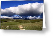 Clouds Rolling In Greeting Card