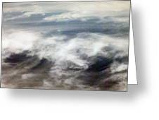 Clouds Tides Greeting Card
