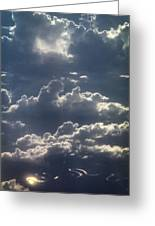 Cloudscape And River Greeting Card