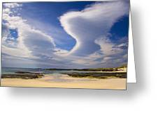 Cloudscape Ardnamurchan Greeting Card