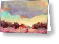 Cloudspangle Greeting Card