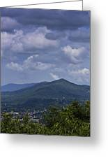 Cloudy Day In Virginia Greeting Card