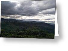 Cloudy Environment  Greeting Card