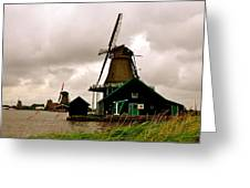 Cloudy Holland Greeting Card