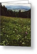 Cloudy Tatra Mountains Greeting Card
