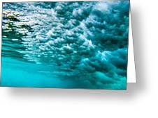 Cloudy Water Greeting Card