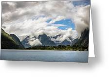 Cloudy With A Chance Of Beautiful Photo Greeting Card